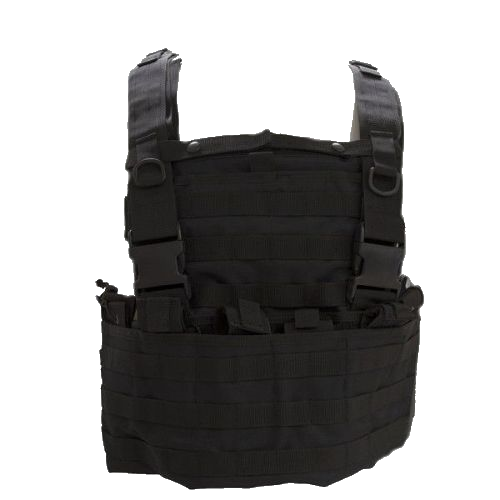 Swiss Arms Tactical Molle Vest - Black
